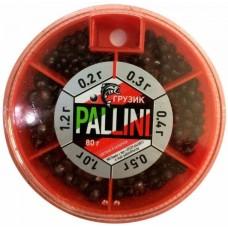 Набор грузил рыболовных № 6 Pallini