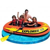 "Лодка надувная трехместная INTEX ""Explorer 300"""
