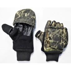 Варежки-перчатки зимние