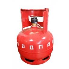 Баллон газовый бытовой 5 литров с клапаном