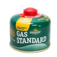 Газовый баллон TOURIST Gas Standard 230 гр, резьбовой