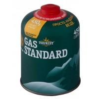 Газовый баллон с резьбой TOURIST Gas Standard 450гр