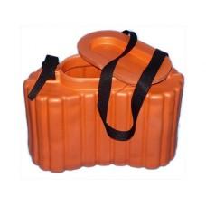 Кан для живца оранжевый ЭВА утепленный