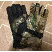Перчатки утепленные для рыбалки, охоты