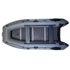 Лодка моторная с жестким полом (пайол) и килем Т360р