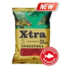Прикормка X-tra Лещ мотыль красный (Крупная фракция) 750 гр