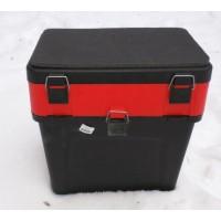 Ящик для зимней рыбалки Три Кита 19 л. (Черный)