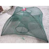 Раколовка-зонт на 4 входа